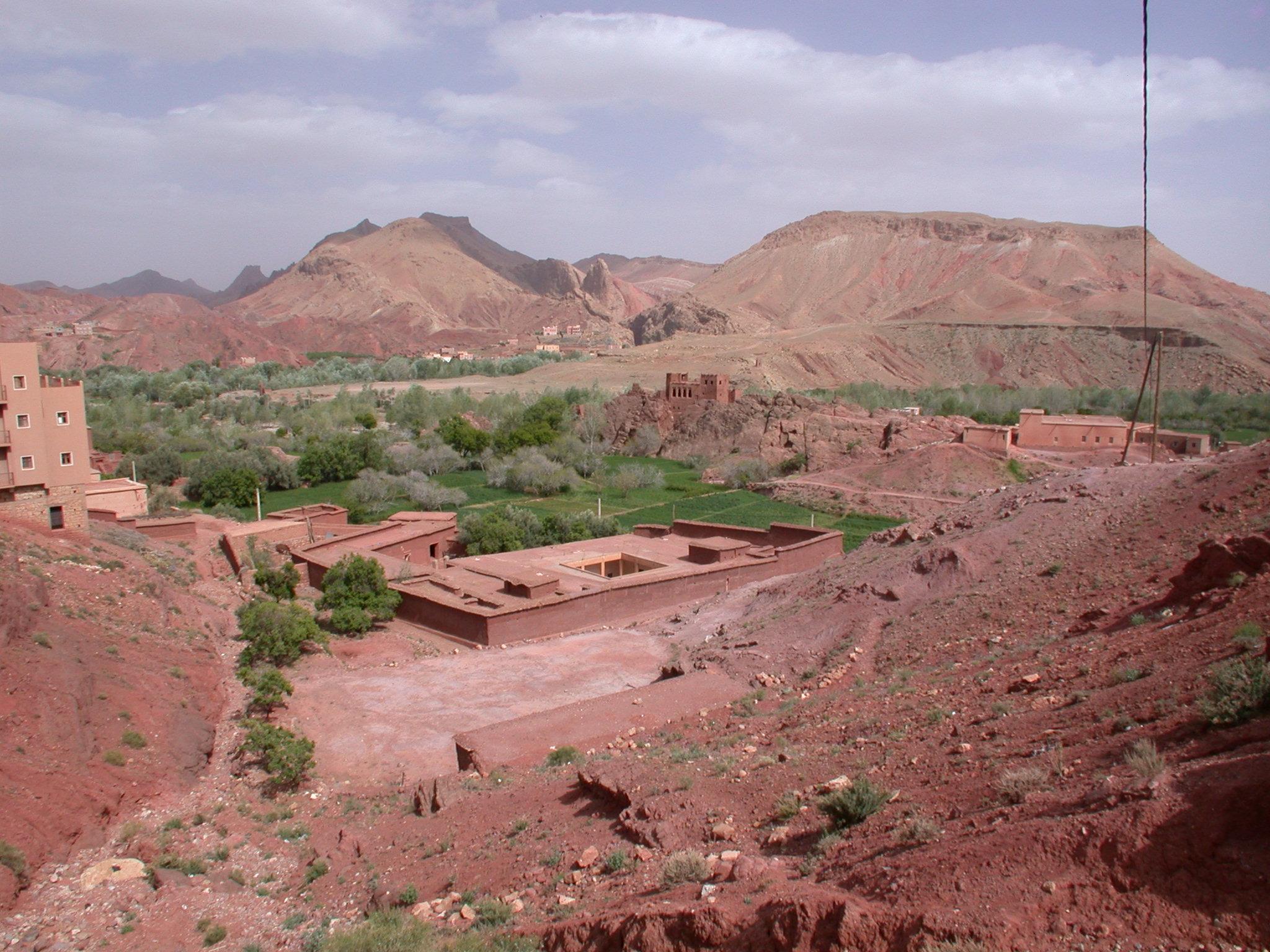 Luca Errera, Daniela Trastulli, Marocco, via delle kasbah, kasbah