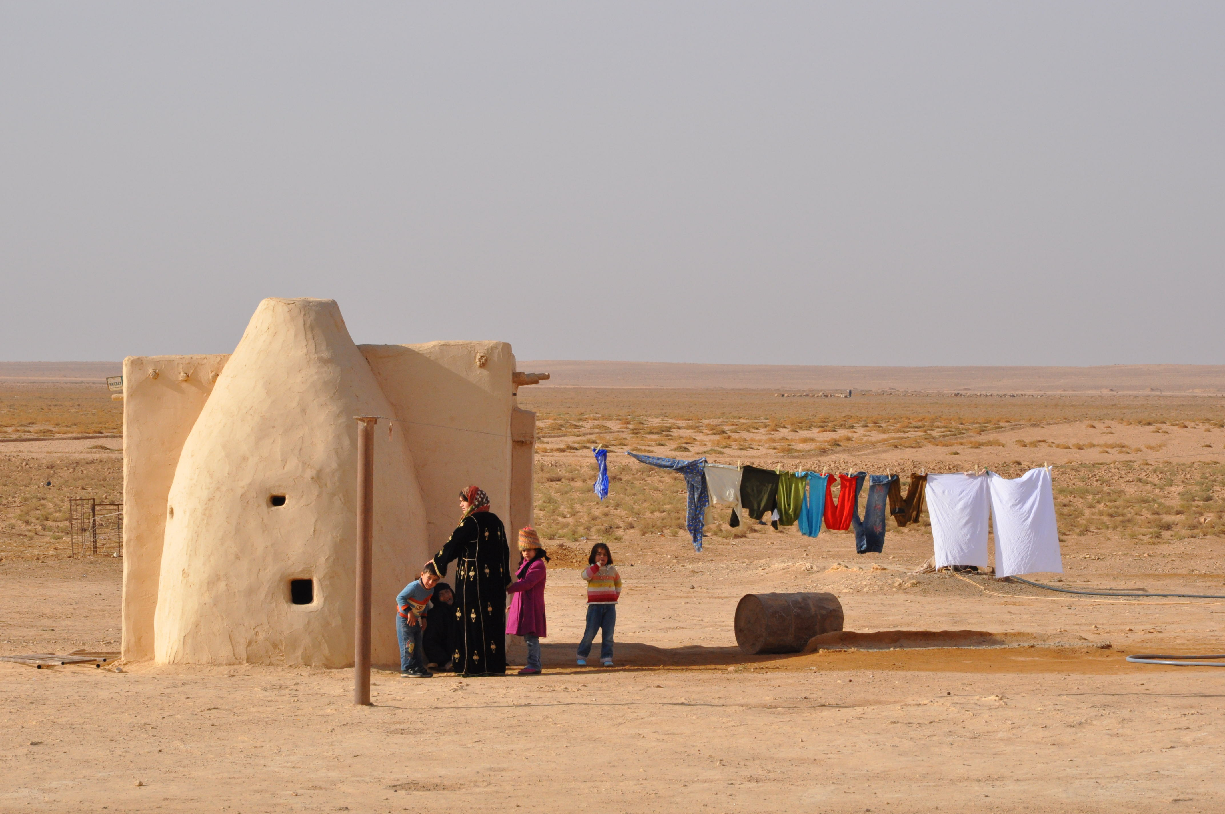 Luca Errera, Daniela Trastulli, Siria, famiglia, campagna, deserto