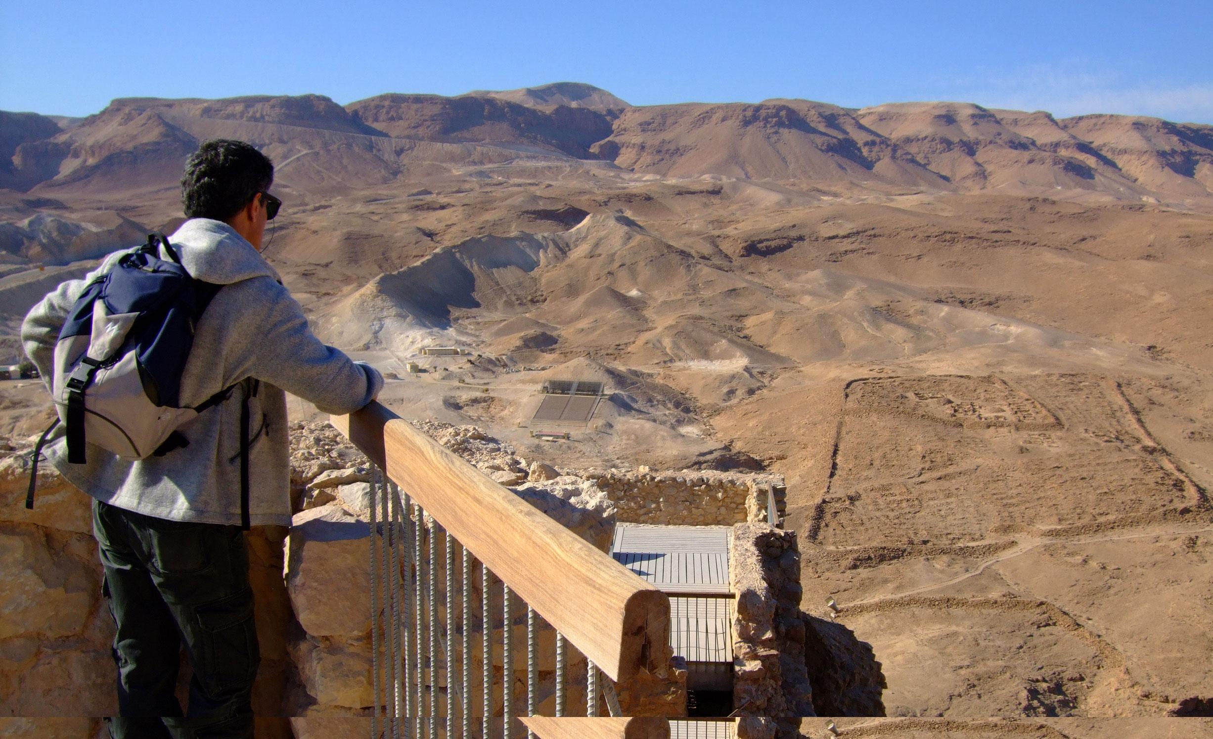 Luca Errera, Daniela Trastulli, Israele, Masada, accampamento romano