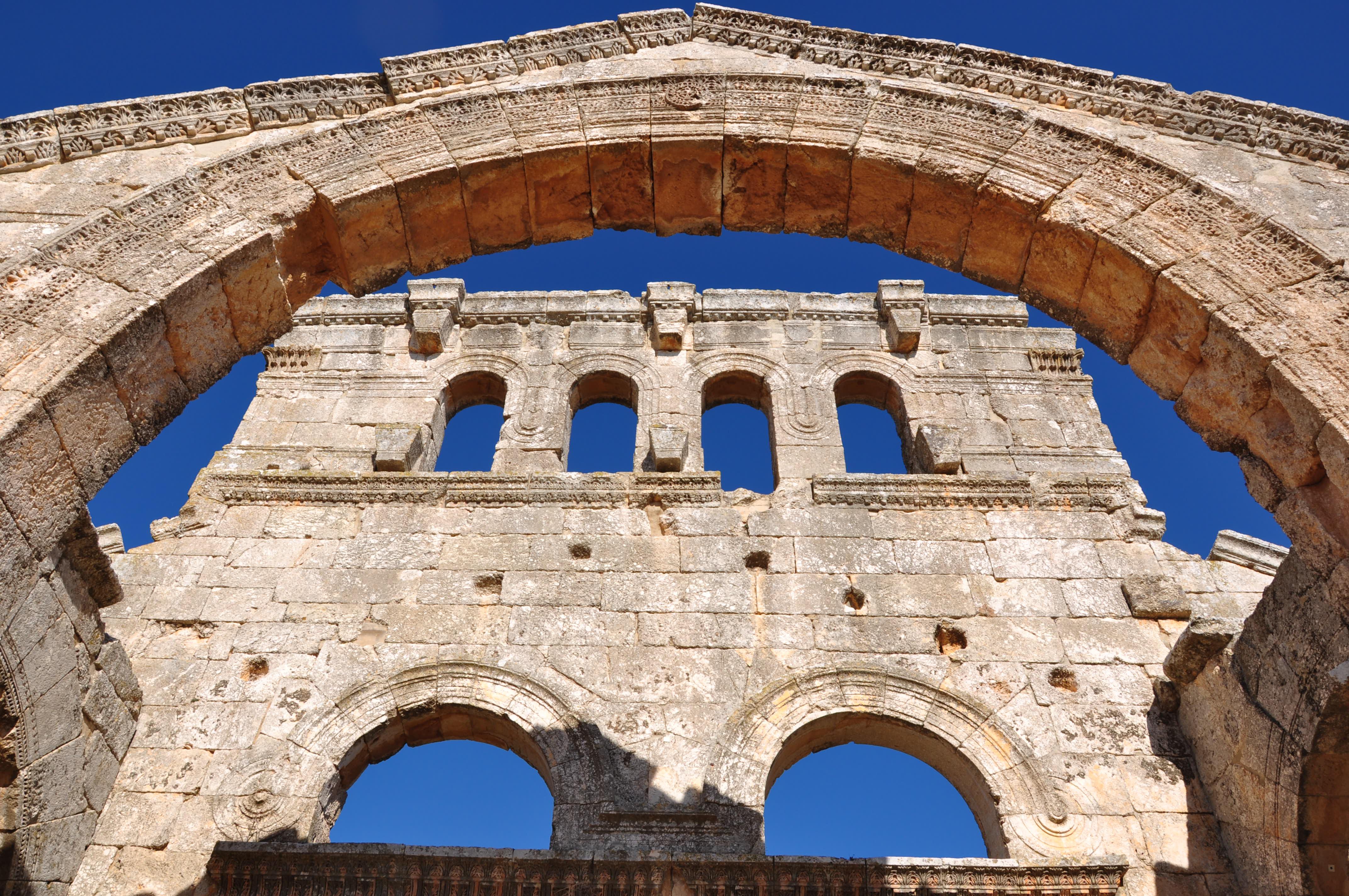 Luca Errera, Daniela Trastulli, Siria, città morte, Ancient Villages, Northern Syria Qalʿat Simʿān, basilica San Simeone Stilita