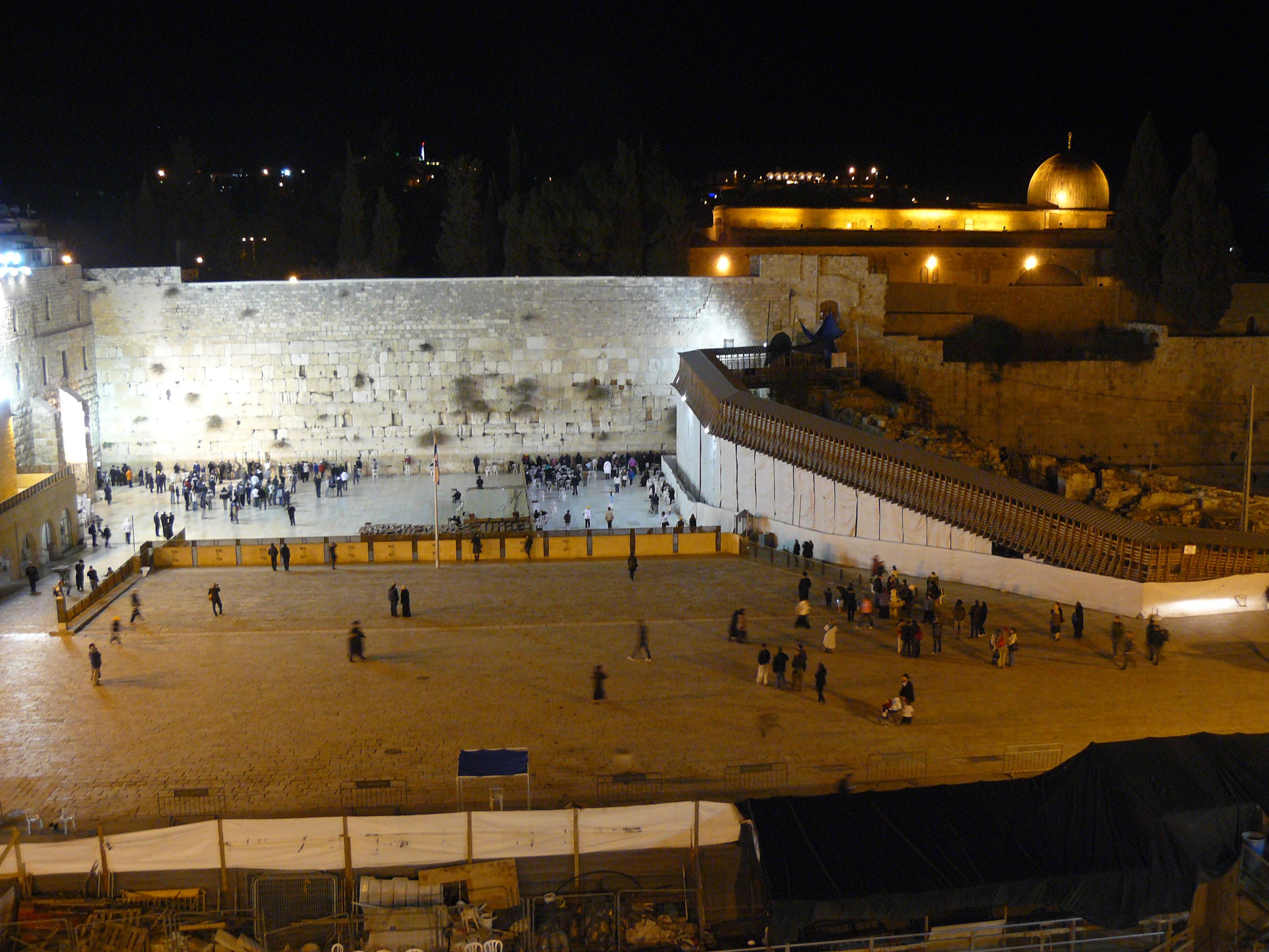 Luca Errera, Daniela Trastulli, Israele, muro del pianto, cupola della roccia, Gerusalemme