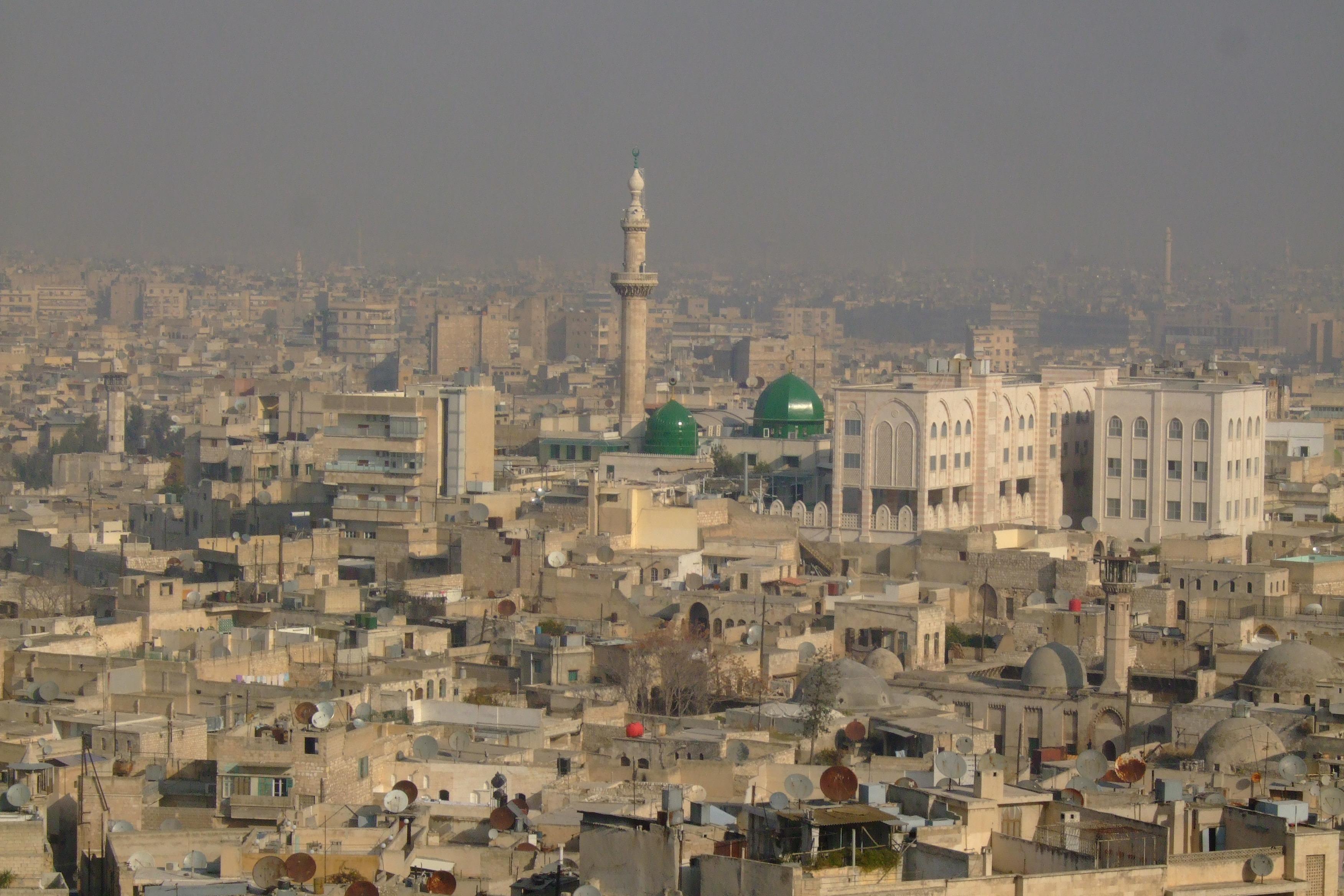 Luca Errera, Daniela Trastulli, Siria, Aleppo, vista dalla cittadella