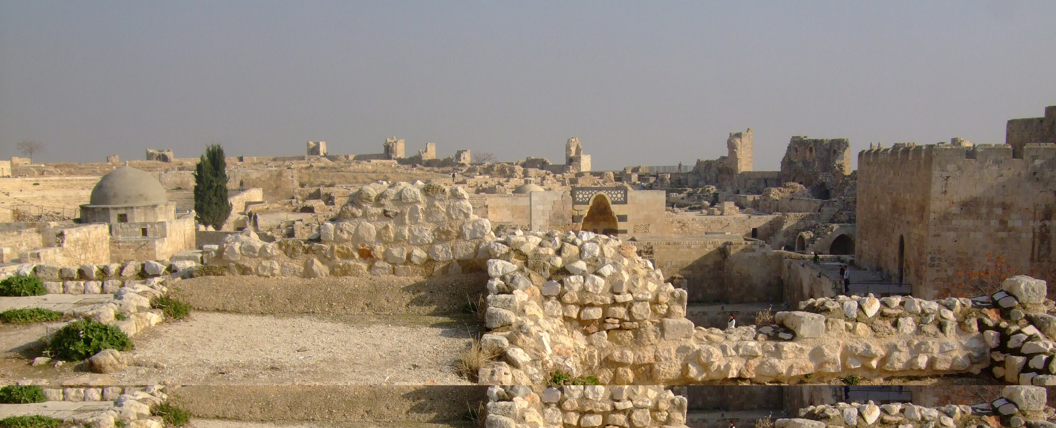 Luca Errera, Daniela Trastulli, Siria, Aleppo, cittadella