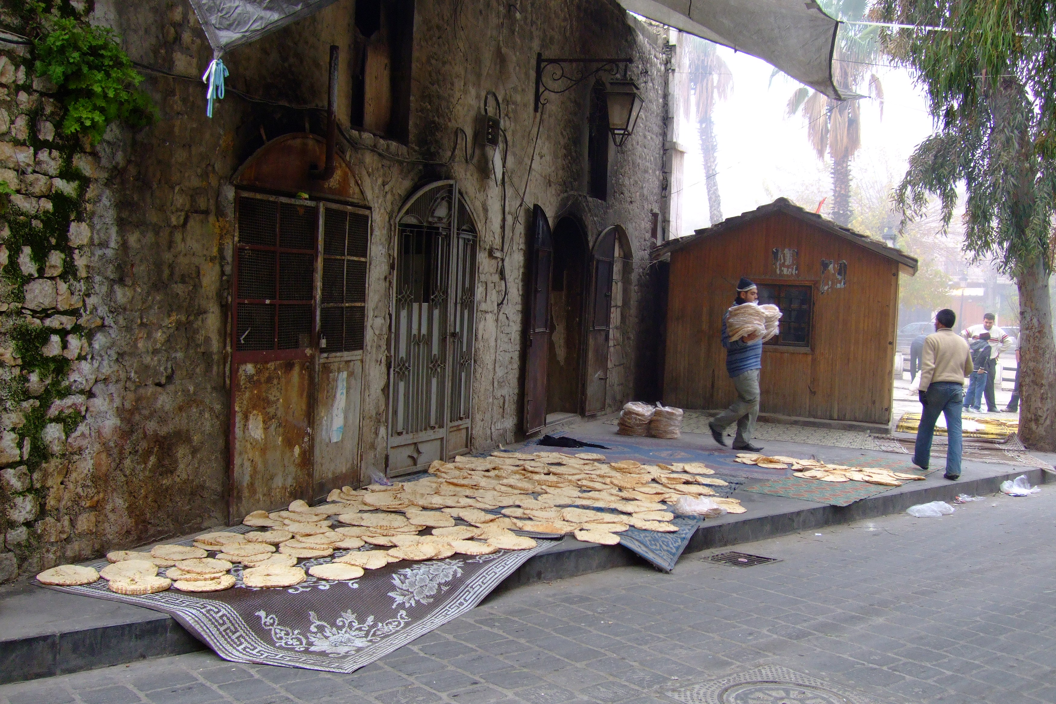 Luca Errera, Daniela Trastulli, Siria, Aleppo, forno, pane, strada