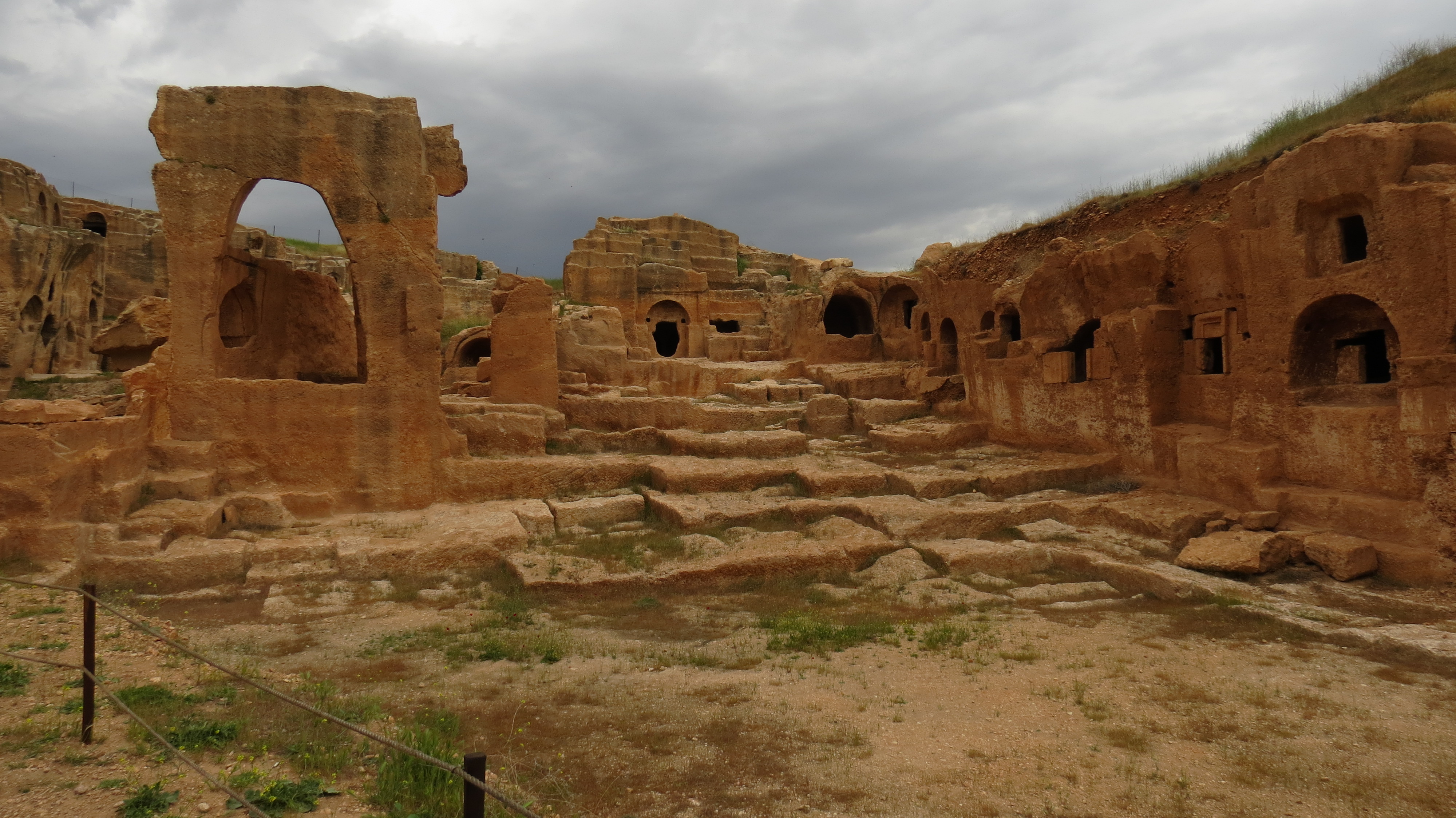 Luca Errera, Daniela Trastulli, Turchia, Mardin, Mardin, Dara, ancient city Dara
