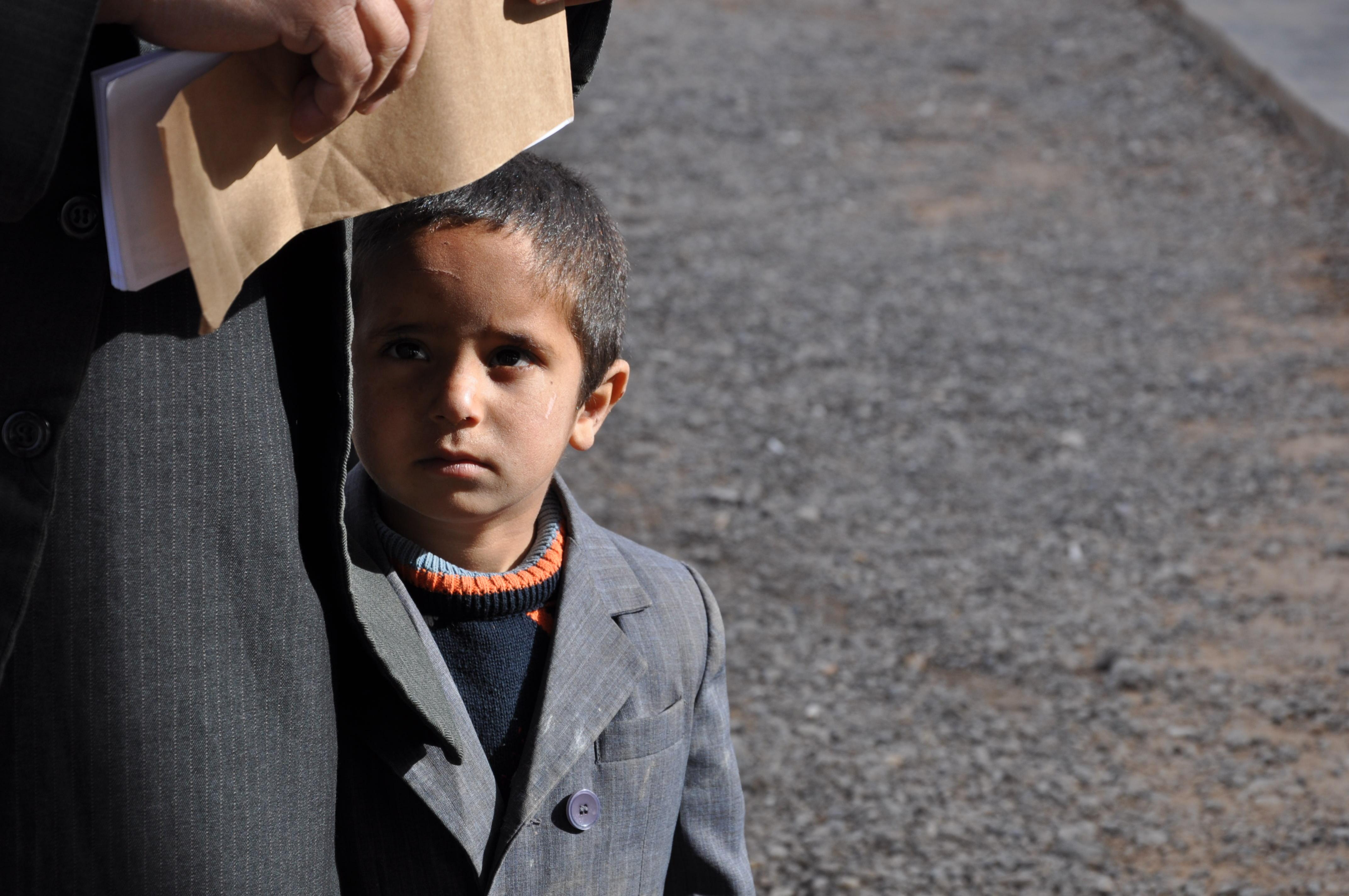 Luca Errera, Daniela Trastulli, Siria, Damasco, bambino
