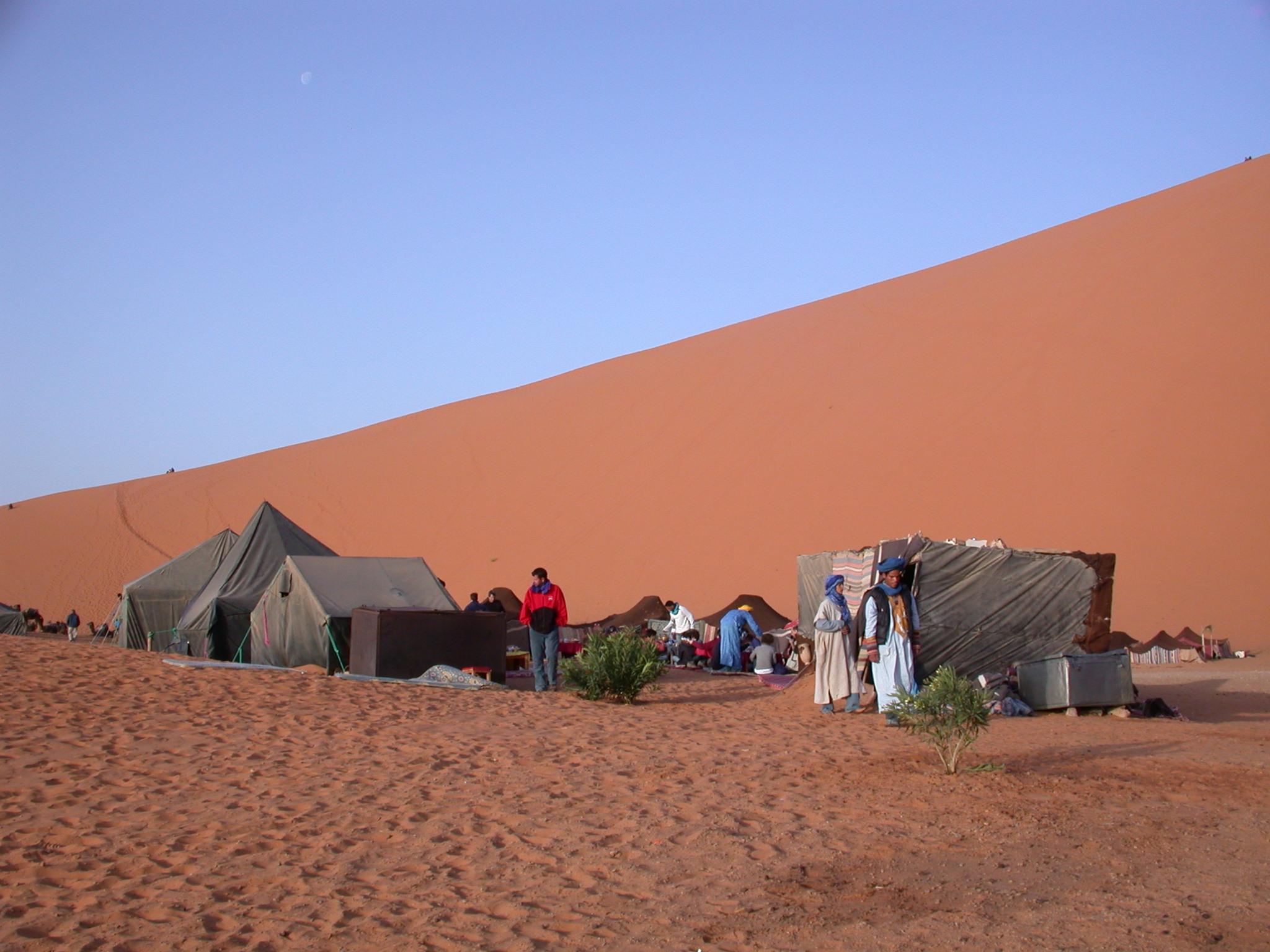 Luca Errera, Daniela Trastulli, Marocco, deserto, camp