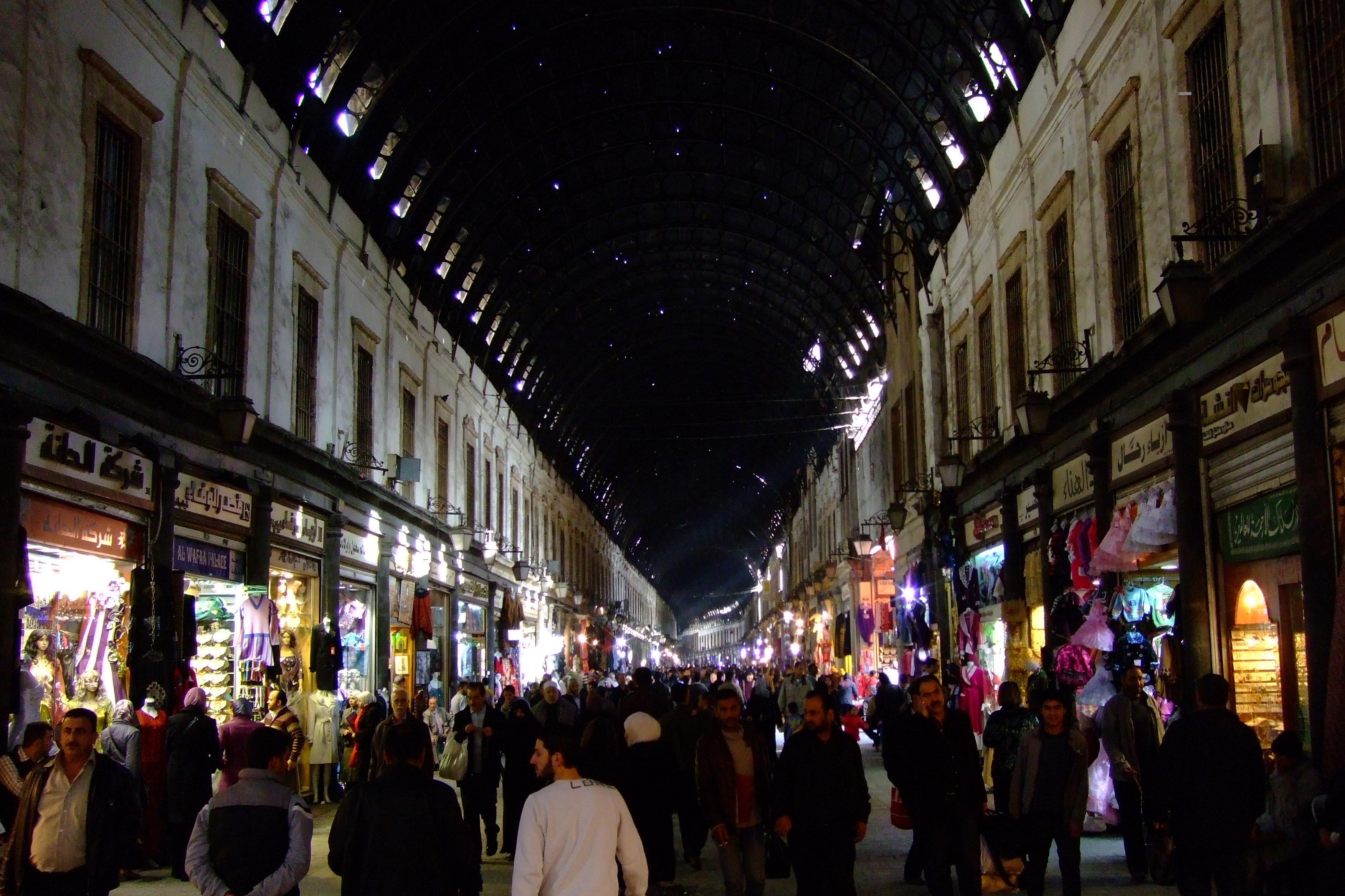 Luca Errera, Daniela Trastulli, Siria, Damasco, bazar