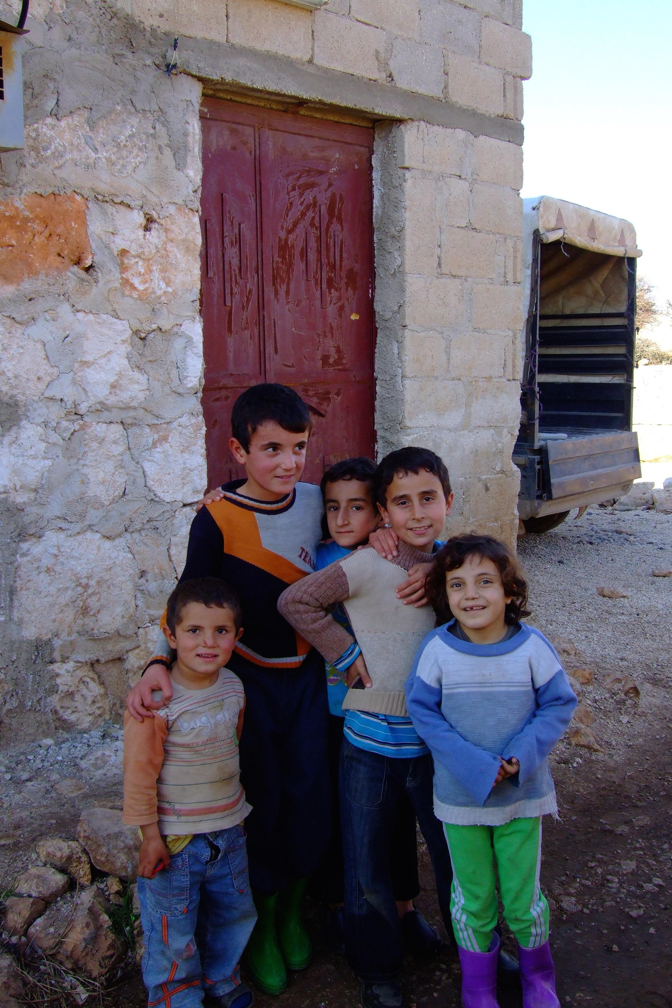 Luca Errera, Daniela Trastulli, Siria, bambini