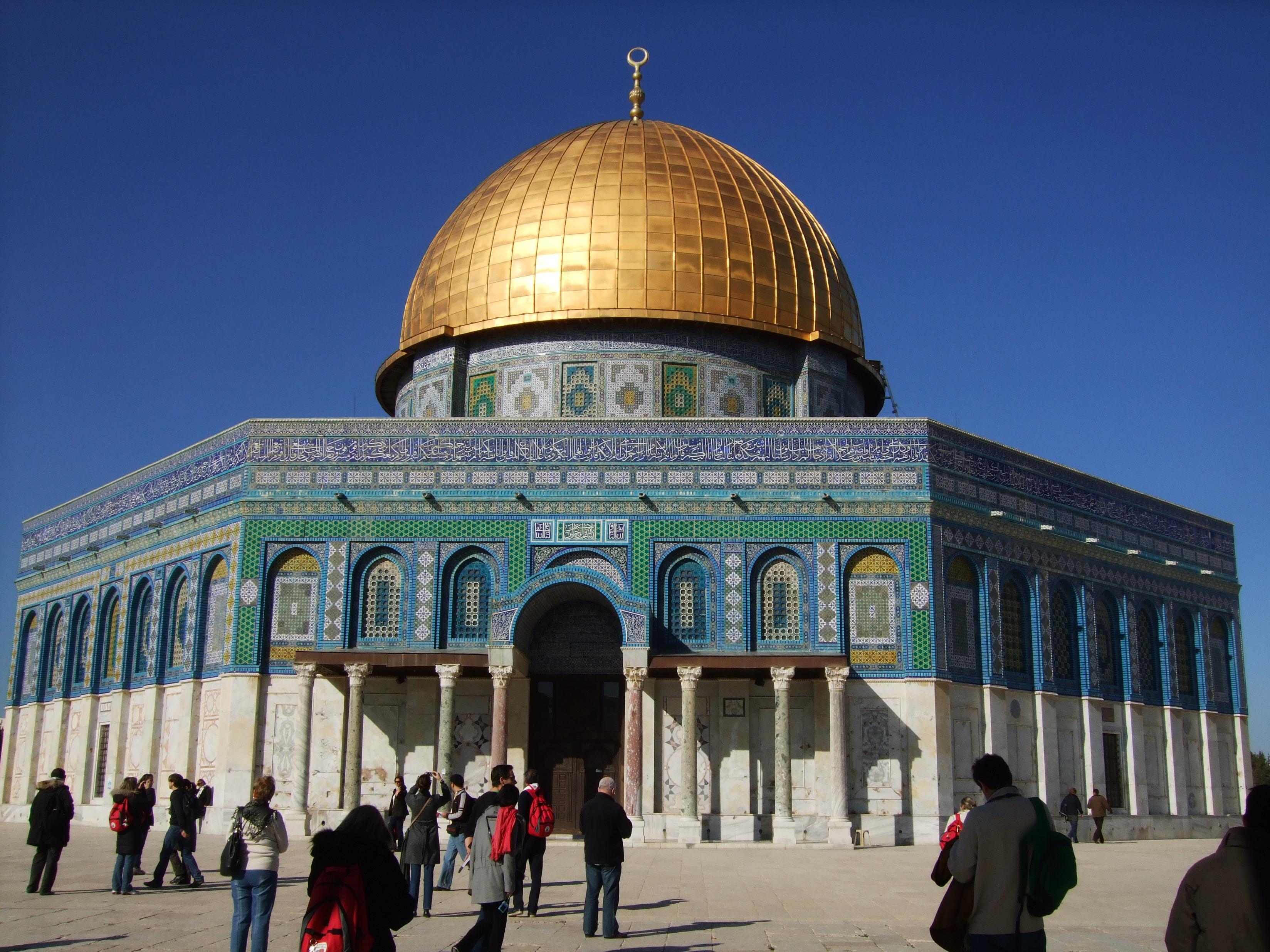 Luca Errera, Daniela Trastulli, Israele, Gerusalemme, cupola della roccia