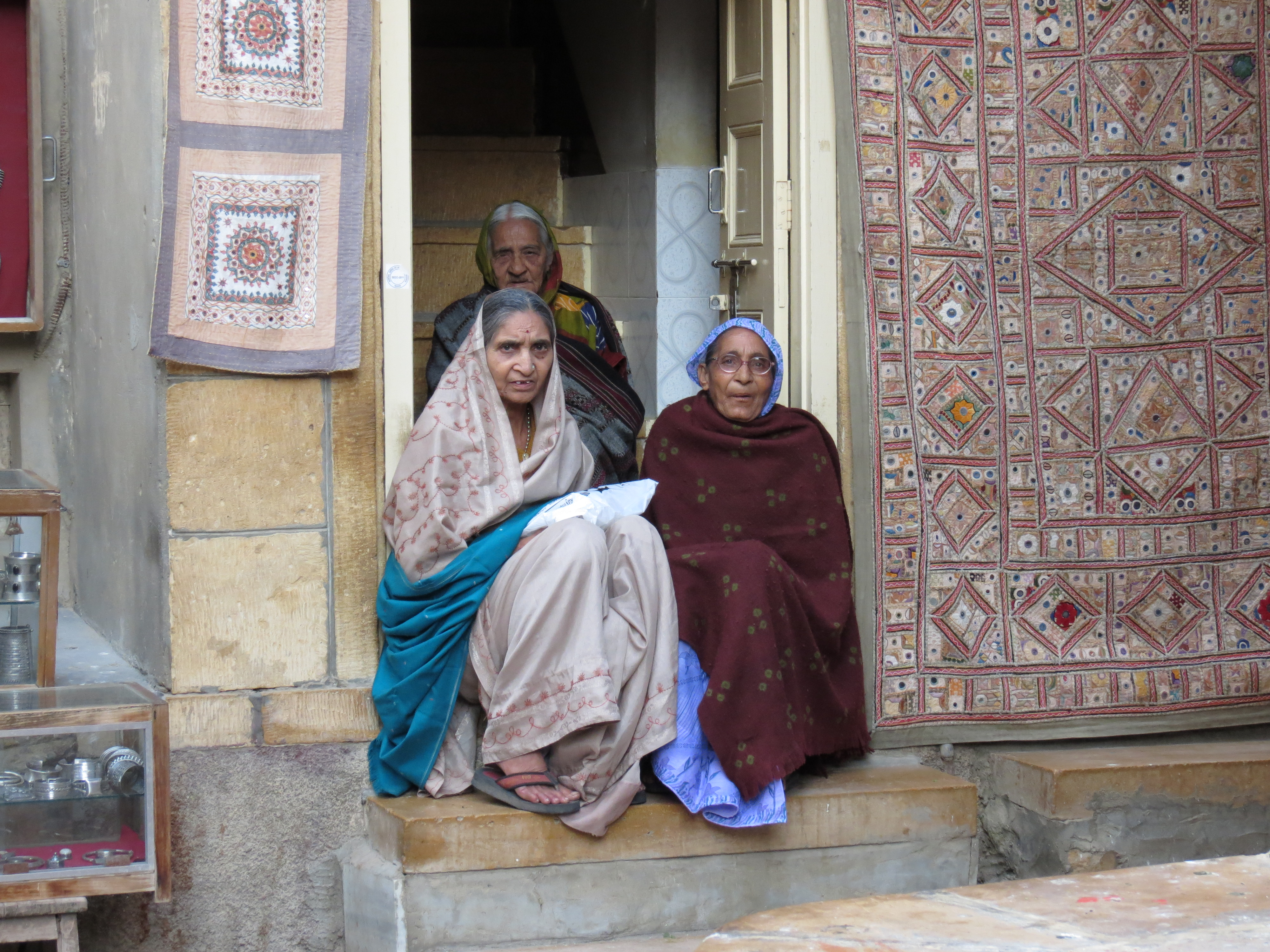 Luca Errera, Daniela Trastulli, India, Rajasthan, donne, vecchie