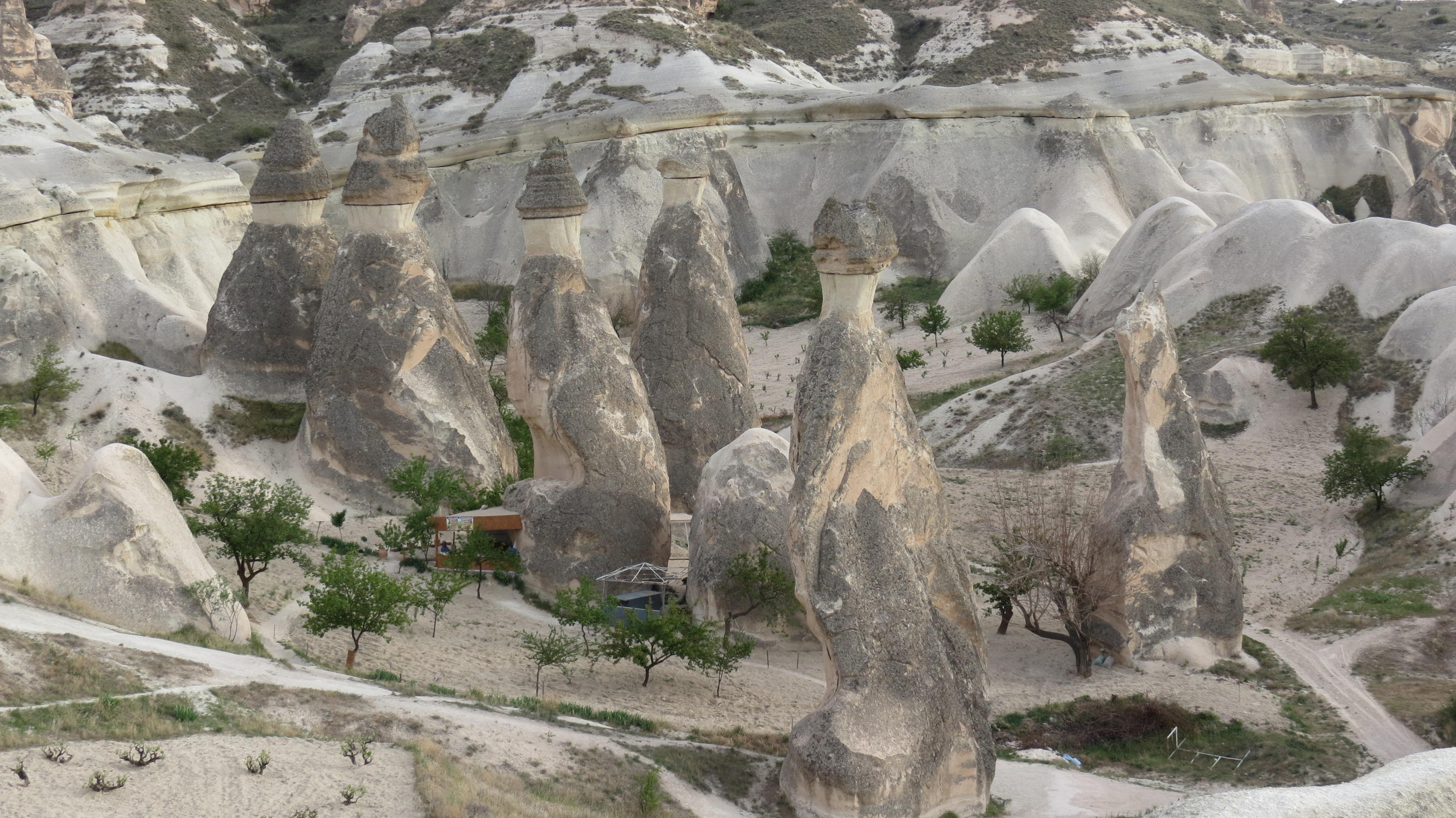 Luca Errera, Daniela Trastulli, Turchia, Cappadocia, camini delle fate